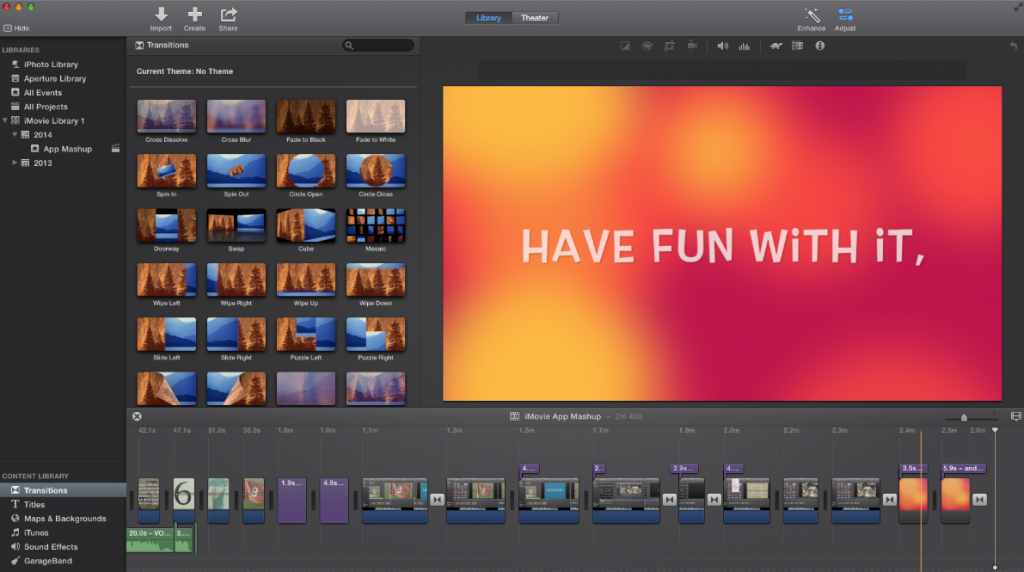 Use iMovie For Windows to Create Brilliant Home Movie